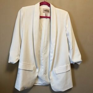 White long blazer Forever 21. Worn once. Small